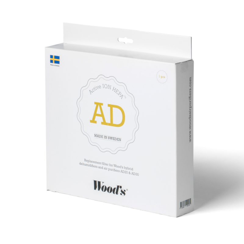 Náhradní Active ION filtr k odvlhčovači Woods AD30G