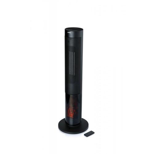 Teplovzdušný ventilátor s imitáciou ohňa DOMO DO7345H