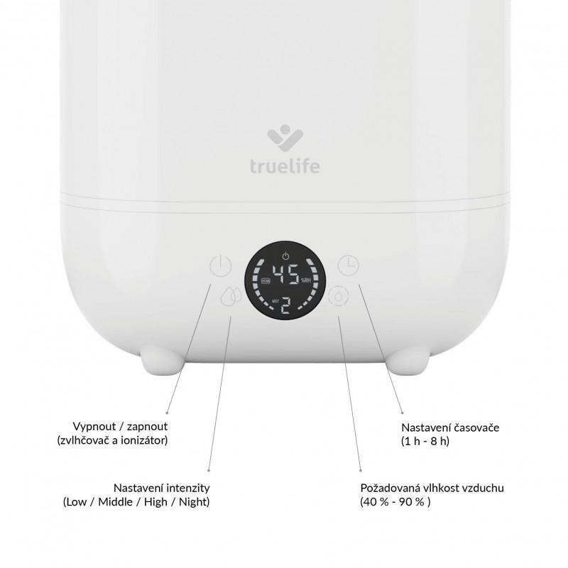 Zvlhčovač TrueLife AIR Humidifier H5 Touch