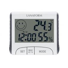 Digitálny teplomer a vlhkomer - Lanaform LA120701