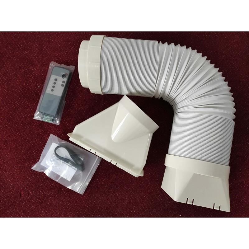 Mobilná klimatizácia REMKO RKL300 biela Recenzia
