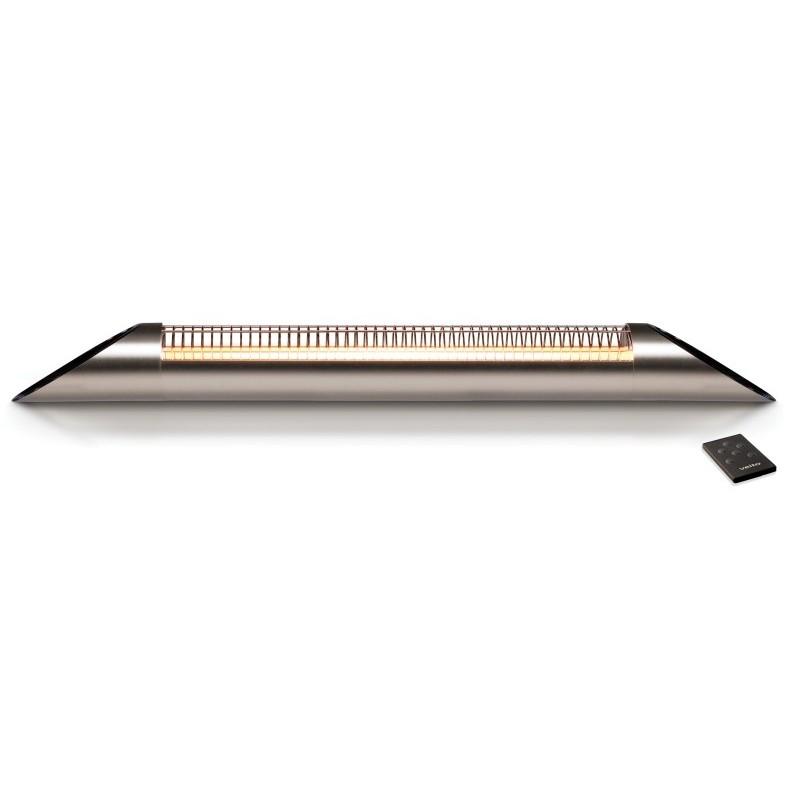Karbonový žiarič  Veito Blade Silver
