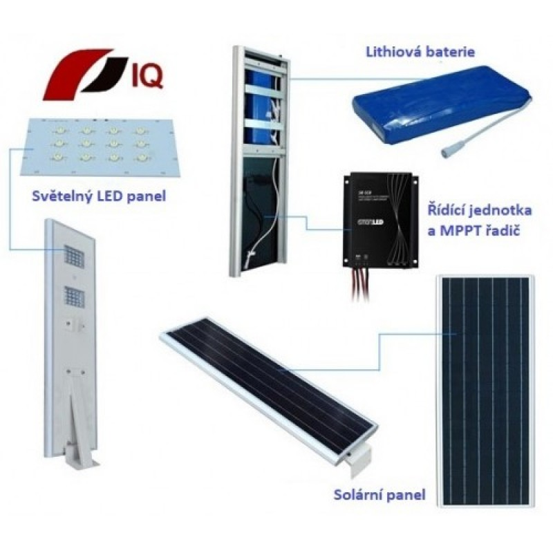 Solárne svietidlo Thermowell IQ-ISSL 15 POWER plus