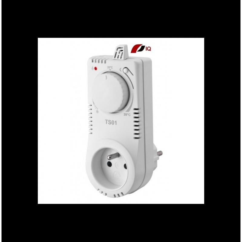 Zásuvkový termostat Thermowell TS 01