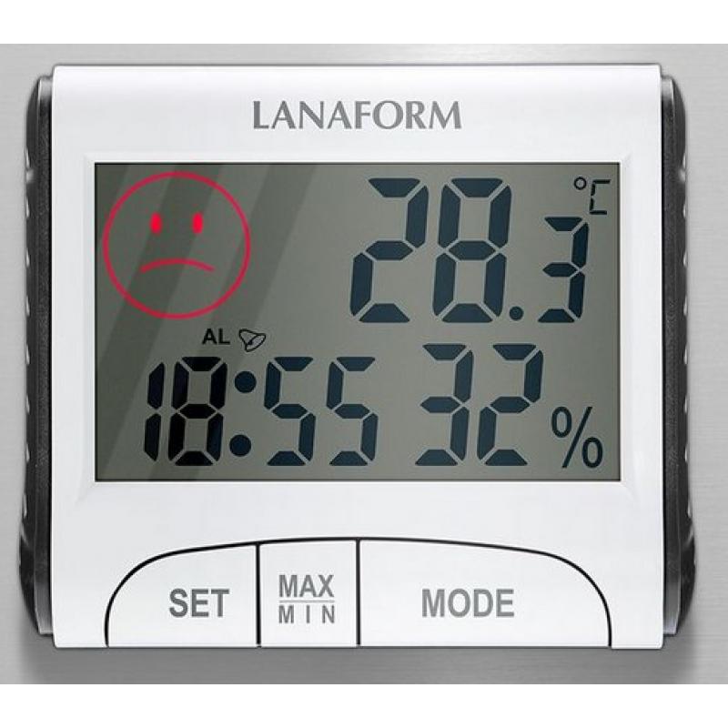 Digitálny teplomer a vlhkomer - Lanaform LA120701 Recenzia