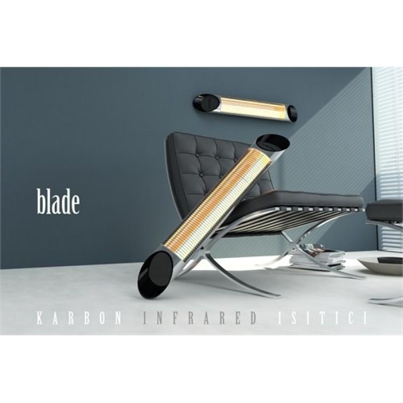 Karbónový žiarič Veito Blade S Silver