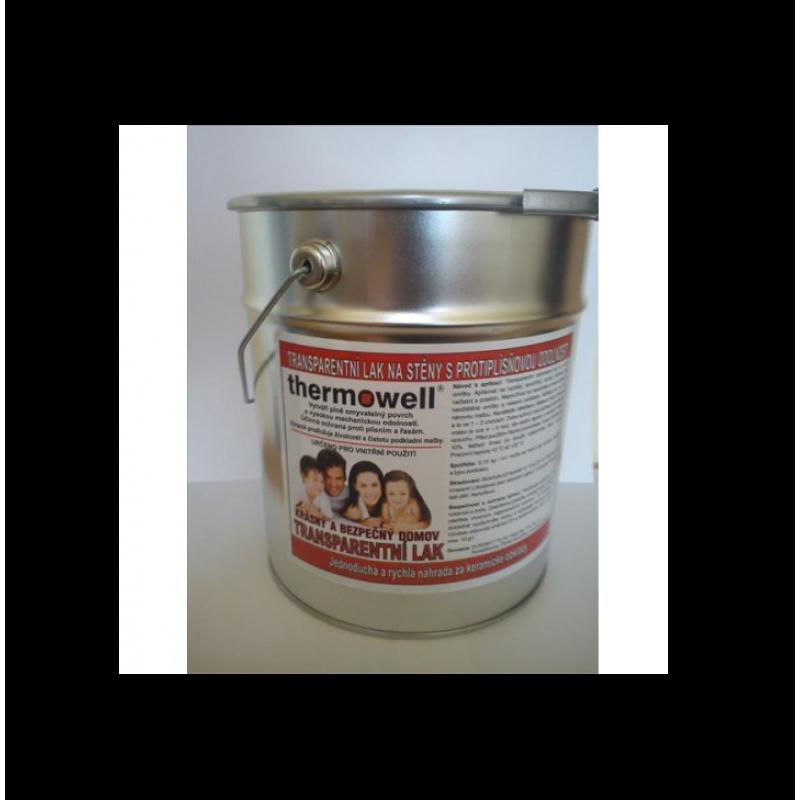 Transparentný lak na steny Thermowell 4,8 kg