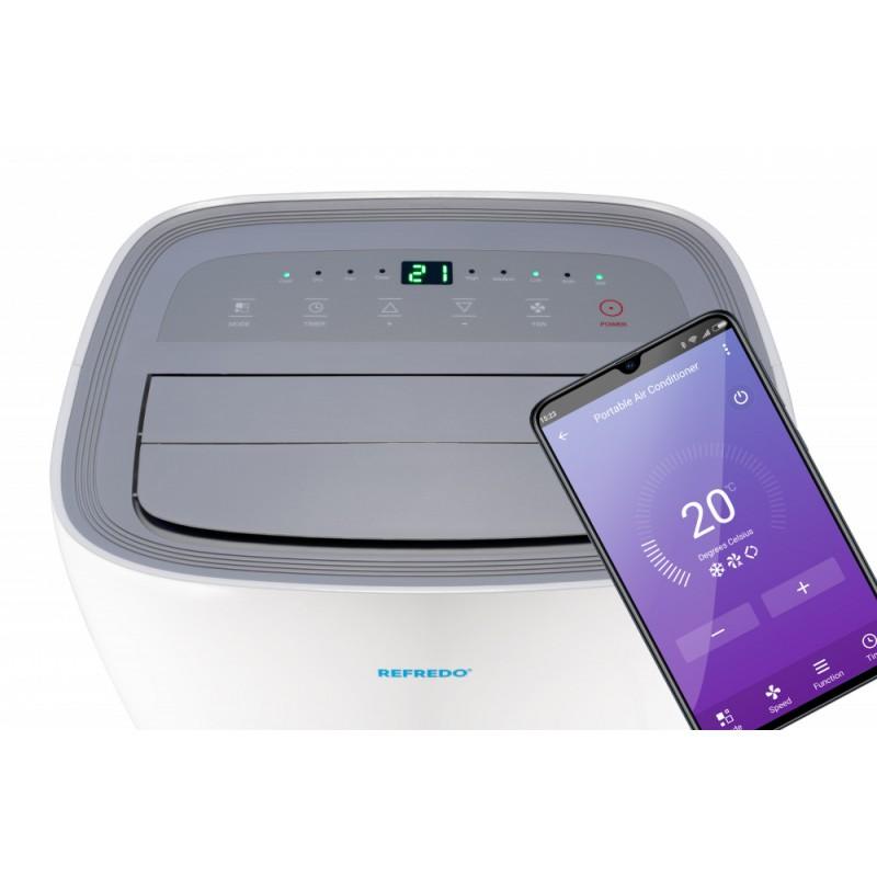 Mobilná klimatizácia REFREDO TAC-12CPB/KA Wi-Fi Recenzia
