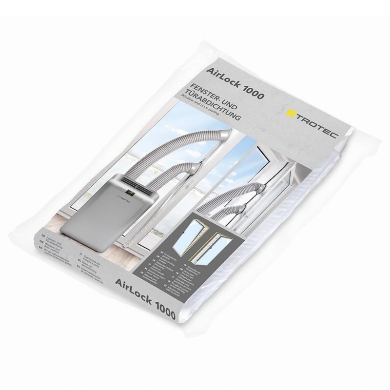 Izolácia do balkónových dverí pre mobilné klimatizácie