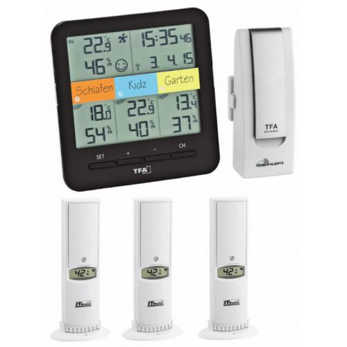 WEATHERHUB č. 7 – bezdrôtový monitor klímy TFA 31.4007.02