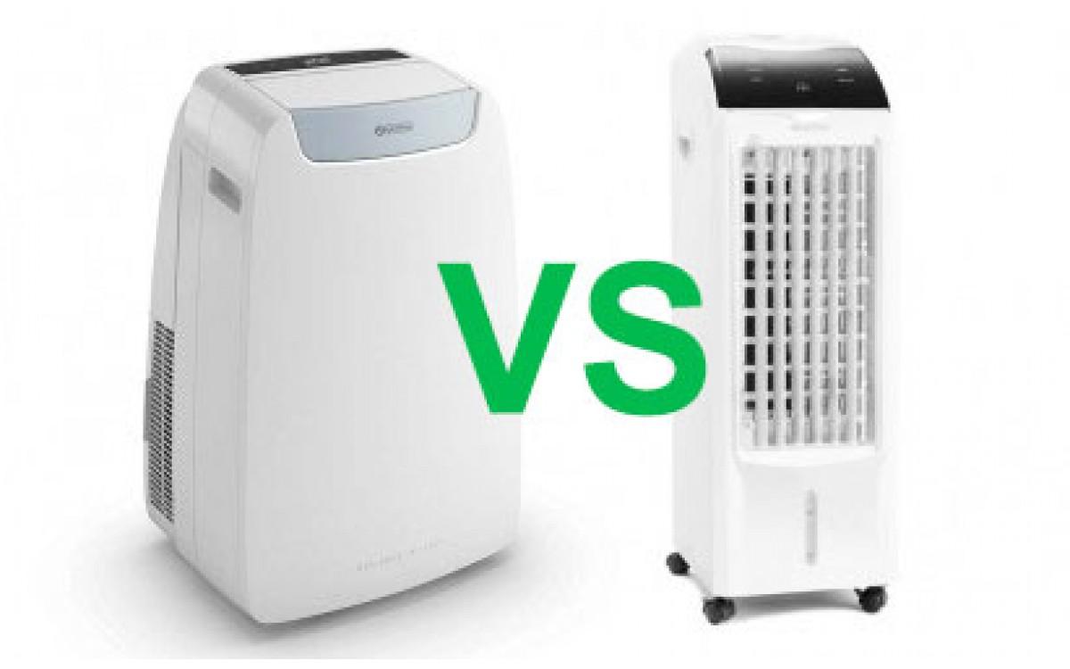Rozdiely medzi mobilnou klimatizáciou a ochladzovačom vzduchu